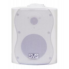 """SVS Audiotechnik WS-20 White Громкоговоритель настенный, динамик 4"""", драйвер 0.5"""", 20Вт (RMS), трансформатор 10Вт-5Вт-2.5Вт-1.25Вт/100В, 8 Ом, 84 дБ, 90-18000 Гц, цвет белый, габариты: 172х150х217 мм"""
