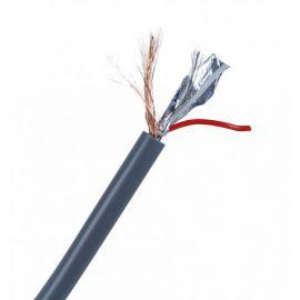 PROAUDIO LDC-212E DMX кабель, инсталляционный, Ø 6 мм, двойной экран: витой (0.12x64) +алюминиевая фольга, жилы 2 x 20x0.12