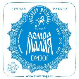 ГОСПОДИН МУЗЫКАНТ Домра МАЛАЯ DM-30F Комплект струн для Домры Малой (Сталь+ФБ)