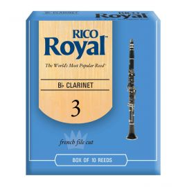 RICO ROYAL RCB1030 Трость для кларнета №3