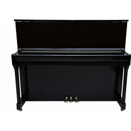 ТУЛЬСКАЯ ГАРМОНЬ Мелодия 120/М3 Пианино Резонансная дека-ламинированная, материал гаммербанка механики –аллюминий, габаритные размеры: 122х146х59 см, цвет – черный полированный