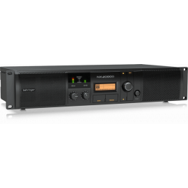 BEHRINGER NX3000D усилитель 2-канальный. DSP Мощность пик. 2 x 1500Вт•2Ω/900Вт•4Ω/440Вт•8Ω, мост 3000Вт•4Ω/1500Вт•8Ω, Speakon/комбо-XLR, кроссовер