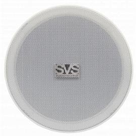 """SVS Audiotechnik SC-106FL Громкоговоритель потолочный безрамочный 6"""", 5/10 Вт, 8 Ом, 70/100В, 91дБ, 90-16000Гц, монтажное отверстие диам 166мм, габариты: диам. 186мм, высота 70мм"""