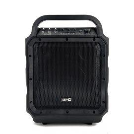 """BG KPA-08WEN Акустическая система, переносная, аккумулятор,  60Вт, класс D, 8""""+1"""", USB,  MP3, SD, BT, Led подсветка"""