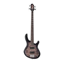 CORT Action-DLX-Plus-FGB Action Series Бас-гитара, серый санберст, Крепление грифа: на болтах.