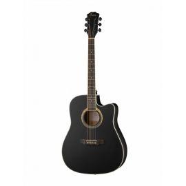 """FOIX FFG-2041C-BK Акустическая гитара, черная, Размер: 41"""".Верхняя дека: липа."""
