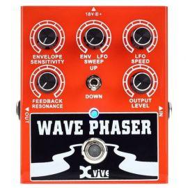 XVIVE W1 Wave Phaser Педаль эффектов для гитары, профессиональный металлический корпус, малошумящая