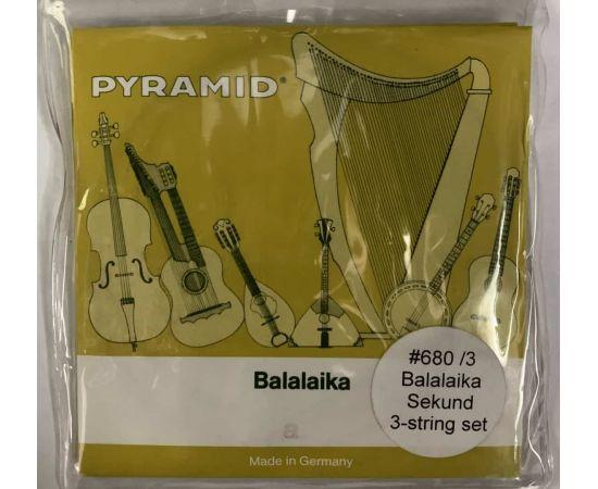 PYRAMID 680/3 Струны для балалайки секунда (3 струны) 680/3