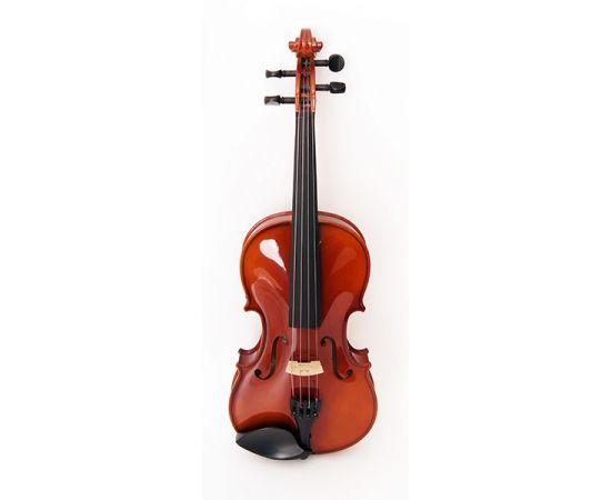 STRUNAL 150-4/4 Скрипка студенческая Модель: Страдивари.Верхняя дека: массив ели.Нижняя дека и обечайки: клен.Шейка: клен.Принадлежности: черное дерево.