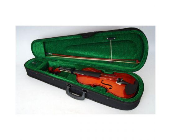 MIRRA VB-290-1/2 Скрипка 1/2 в футляре со смычком.Верхняя дека: ель.Задняя дека и обечайка: волнисты