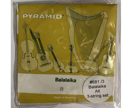PYRAMID 681/3 Струны для балалайки альт (3 струны) 681/3
