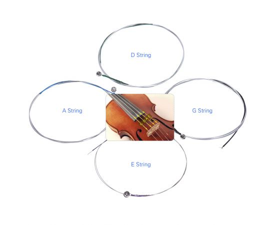 STOREMUSIC SM0292 SHANGHAI Струна №1 для скрипки с металлической основой