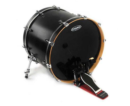"EVANS BD22HBG Hydraulic Black Пластик для бас-барабана 22"""