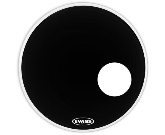 "EVANS BD22RONX EQ3 ONYX Пластик для бас-барабана 22"", резонансный"