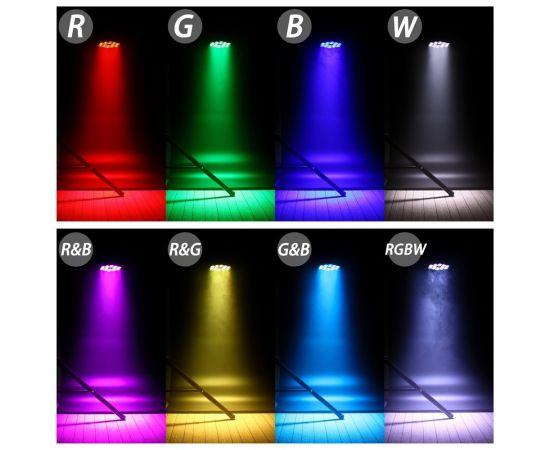 XLINE Light LED PAR 1818 Светодиодный прибор. Источник света: 18х18 Вт RGBWAUV светодиодов.
