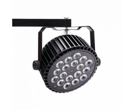 XLINE Light LED PAR 1818 Светодиодный прибор. Источник света: 18х18 Вт RGBWAUV светодиодов