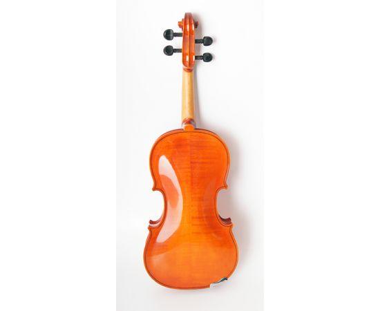 STRUNAL 1750-4/4 Скрипка концертная 4/4,Модель: Страдивари.Верхняя дека: массив ели.Нижняя дека и обечайки: волнистый клен (ярко выраженная волна)