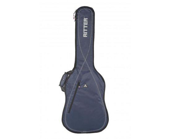 RITTER RGP2-B/BLW Чехол для бас-гитары, защитное уплотнение 10мм+5мм, цвет синий BLW