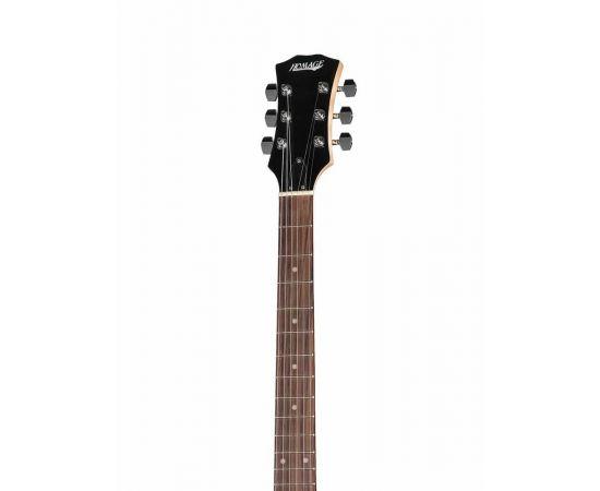 HOMAGE HEG500RDS Электро-гитара под LesPaul, мензура 628мм, корпус - дерево, гриф - клен, накладка грифа - палисандр, механика - гровер, бридж - Tune-o-Matic со стоп-баром,H+H, 1V+1T+3WS