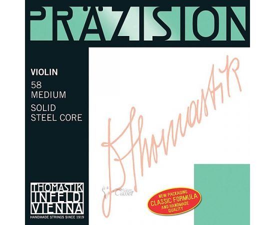 THOMASTIK 58 Precision (Prazision) Комплект струн для скрипки размером 4/4, среднее натяжение