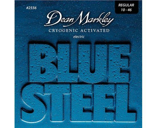DEAN MARKLEY DM2556 Blue Steel Комплект струн для электрогитары, никелированные, 10-46